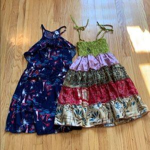 Girls Sweet Summer Dresses x 2